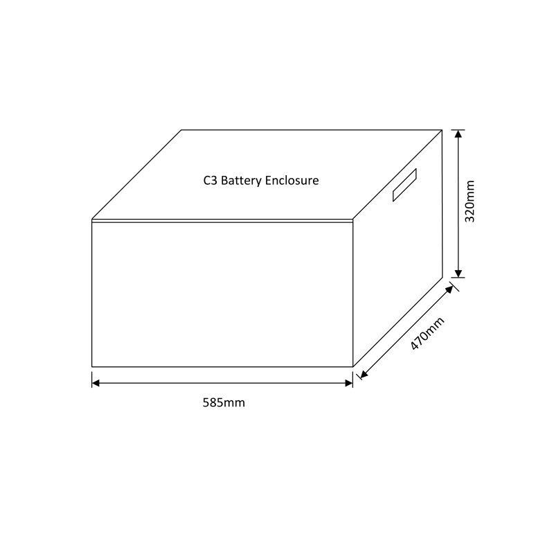 C3 Battery Enclosure