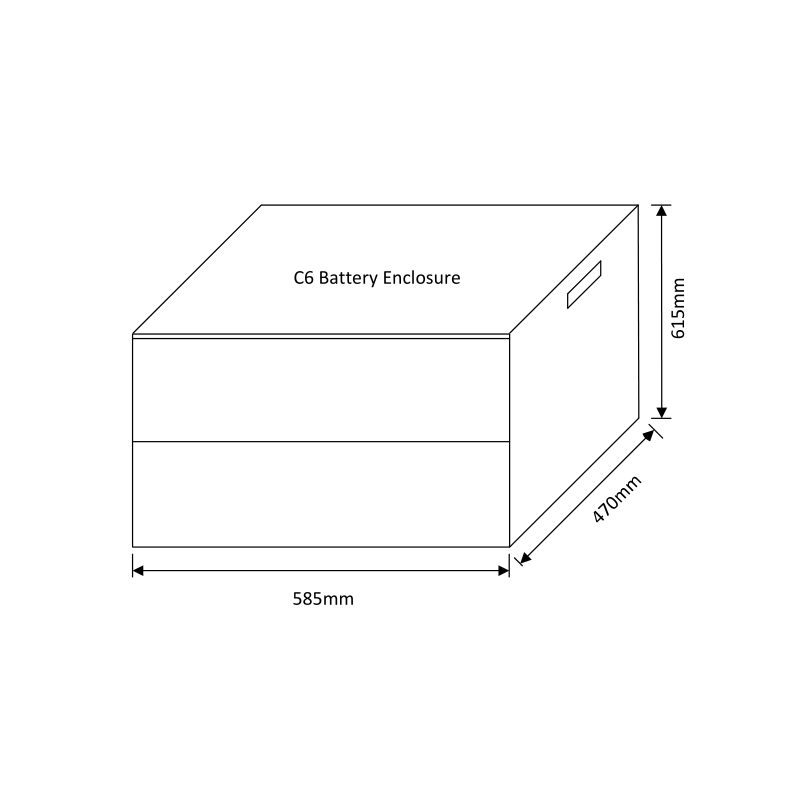C6 Battery Enclosure