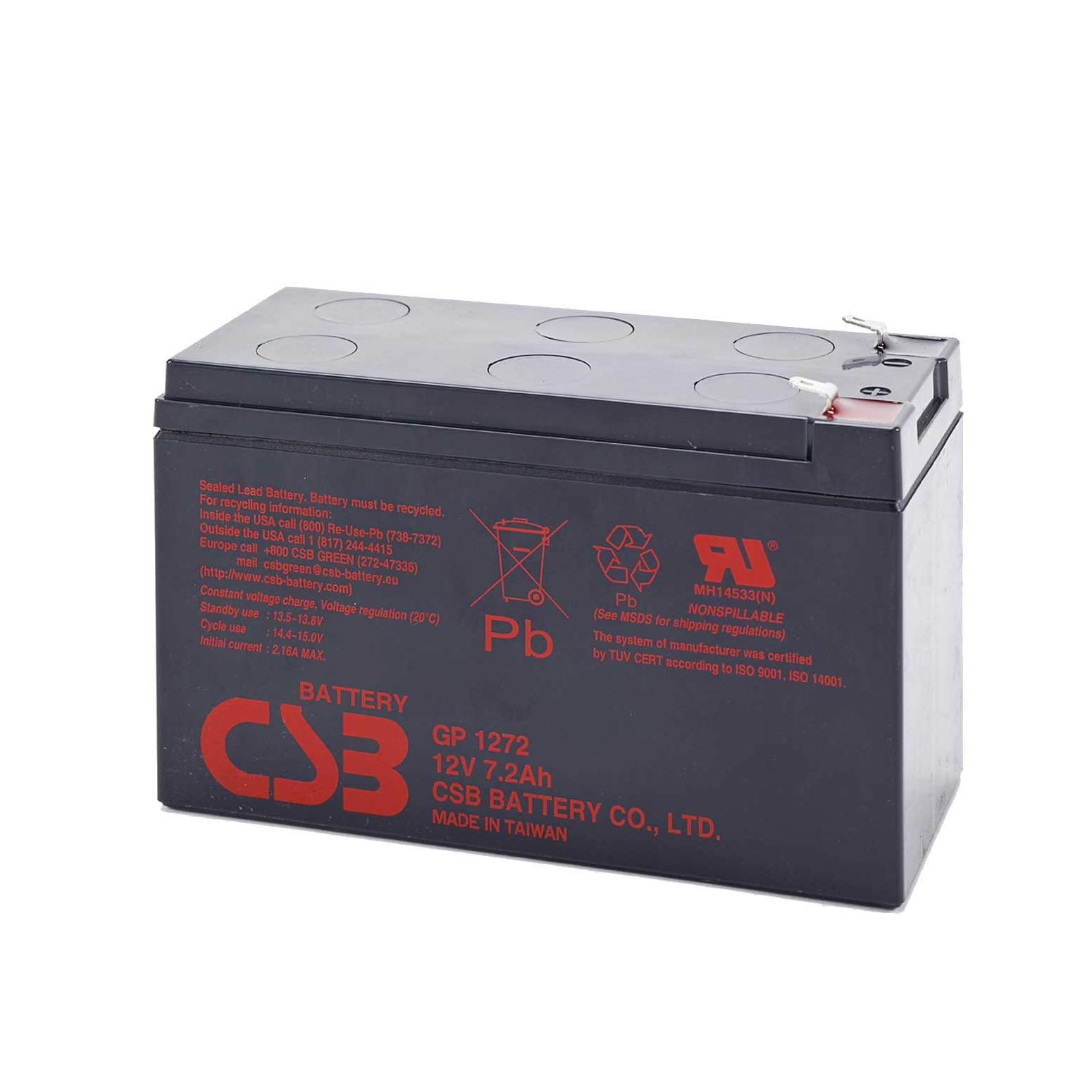 CSB GP1272 Battery